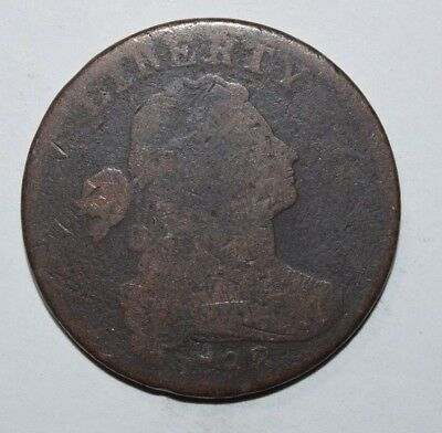 1798 Draped Bust Large Cent  3A