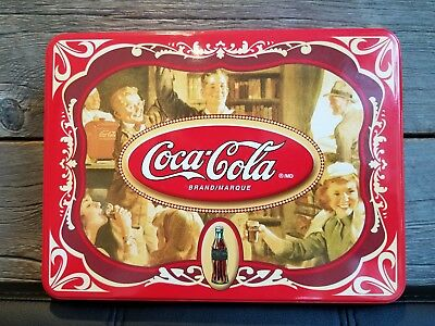 """Coca-Cola Puzz 3D Tin -Empty In Excellent Condition! Approx 9"""" X  7"""""""