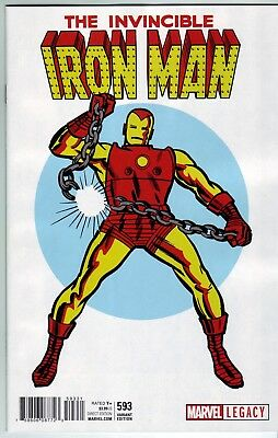 Invincible Iron Man #593 (Legacy) Jack Kirby 1965 T-Shirt 1:50 Variant