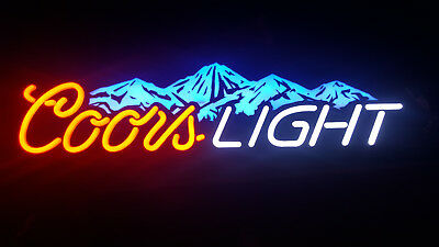 Coors Light Light Up Color Changing Beer Sign