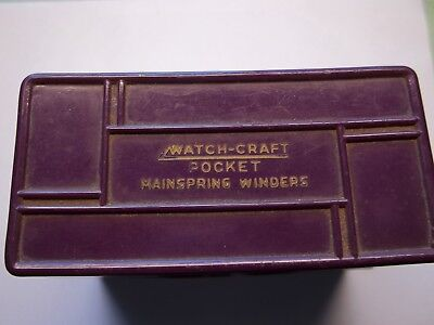 watchcraft main spring winder