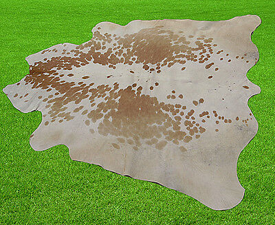 """New Cowhide Rugs Area Cow Skin Leather (51"""" x 51"""") Cow hide SA-625"""