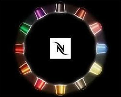 Best Price-52 Cents Each-192 Genuine Nespresso Coffee Capsules Pods-16 Flavors