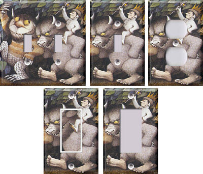 Where the Wild Things Are - Light Switch Covers Home Decor Outlet