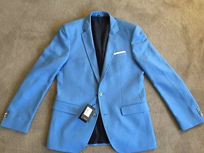 Hugo Boss Pastel Blue Blazer (new with tags)