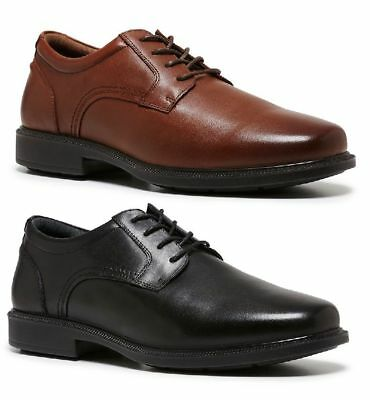 Mens HUSH PUPPIES POLO LACE UP FORMAL/DRESS/WORK/LEATHER SHOES