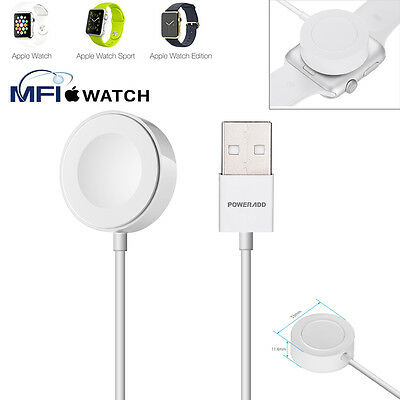 Magnetic Charger Charging Cable(2m) for Apple Watch Series 1/2 iWatch 38/42mm US