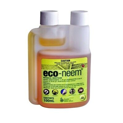 OCP Eco Neem Oil Organic Botanical Insecticide 250ml - Makes upto 125L