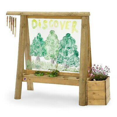 NEW Plum Discovery Create & Paint Easel Art Sustainable Outdoor Toys Nature Sens