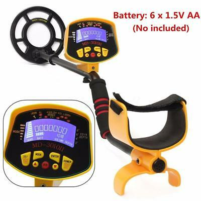 Sale Waterproof Metal Detector Gold Digger Light Hunter Finder Deep Sensitive