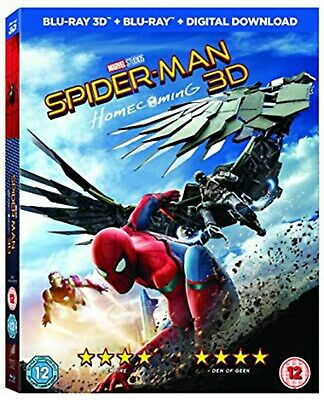 Spider-Man: Homecoming (3D ) [Blu-Ray]