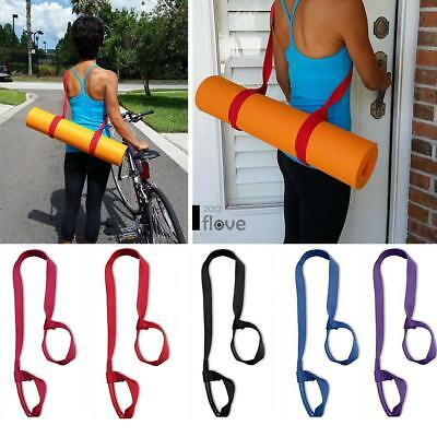 Yoga Mat Strap Adjustable Carrying Sling Strap Bag Assistant Tool ILOE