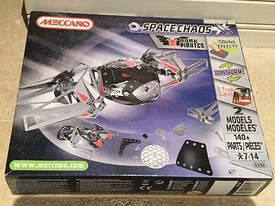 Meccano Transforming Space Chaos With Sound Effects And Trading Cards