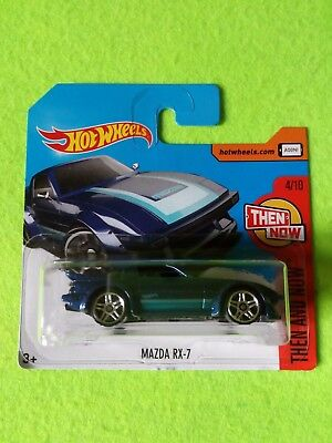 2017 Hot Wheels 1:64 MAZDA RX-7 Mattel Diecast Juguete Toy