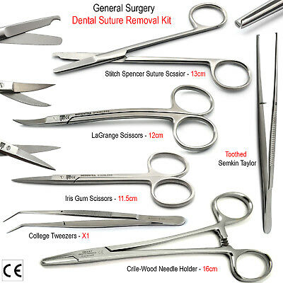 Surgical Tissue Scissors Basic Surgery Small Animal Veterinary First Aid Kit Lab