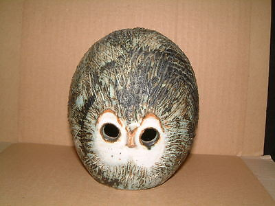 Delightful Briglin Studio Pottery Owl Money Box
