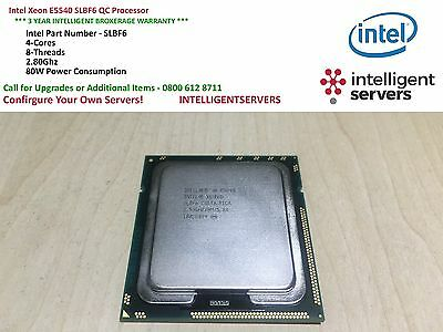 Intel Xeon E5540 SLBF6 2.53GHz 4-Core Processor