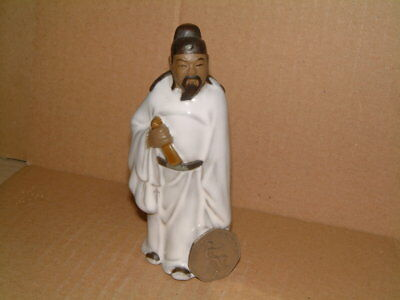 Well Modelled Chinese Mud Man Figure Of A Scribe Or Scholar - Shiwan?
