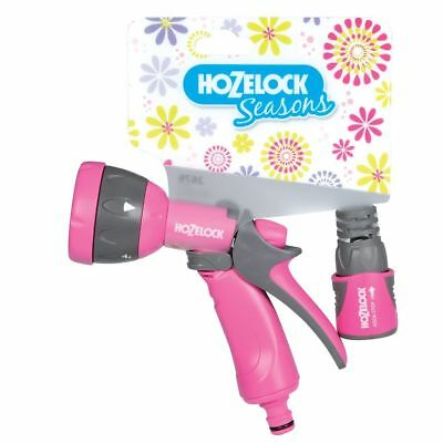 Juego de Pistola modelos Multi Spray Seasons de la marca Hozelock color Rosa