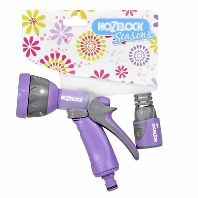 Juego de Pistola modelos Multi Spray Seasons de la marca Hozelock color morado