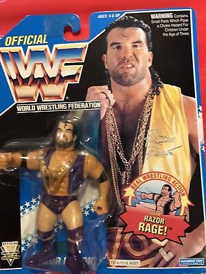 Wwf Hasbro Razor Ramon Moc Hard To Find Grab A Bargain.