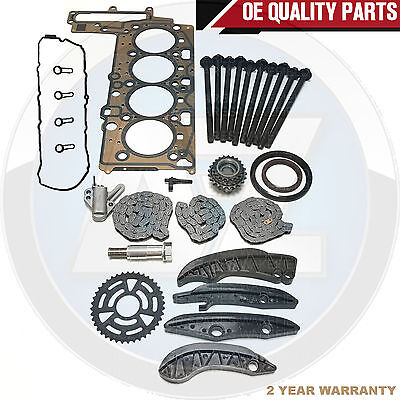 For Bmw 1 3 5 Series Upper Lower Timing Chain Head Gasket Rocker Cover Bolts Kit