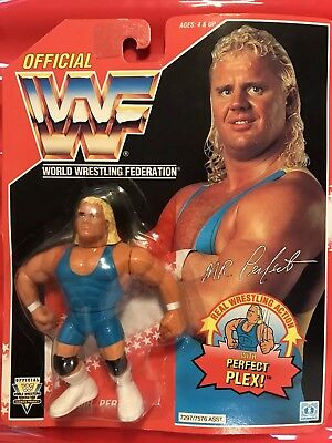 Wwf Hasbro Mr Perfect Moc Hard To Find Grab A Bargain.