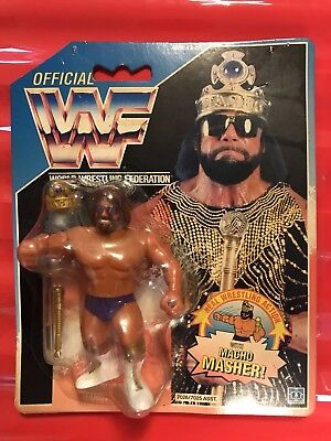 Wwf Hasbro Macho King Moc Hard To Find Grab A Bargain.