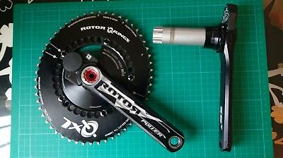 Rotor Power Meter - 170mm - 130 BCD - Double sided - QXL Chainrings