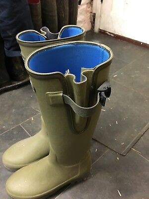 Le Chameau  Vierzonord Neoprene Lined Insulated Wellington Boots size 6.5