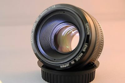 Canon 50mm f1.8 mark 1 original nifty fifty with metal mount. Please read desc.