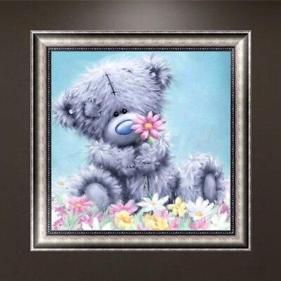 DIY 5D Diamond Embroidery Painting Bear Cross Stitch Craft Home Decor Gift