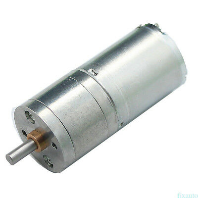 High Torque 12V DC 300 RPM Gear-Box Electric Motor Replacement New