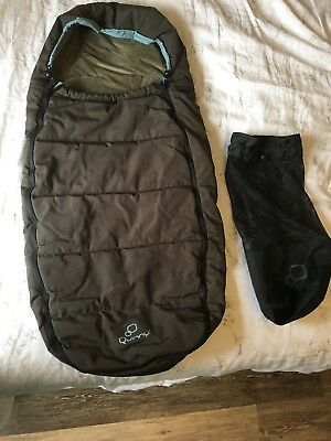 Quinny Buzz / Zapp / Xtra Footmuff Cosytoes in Olive - Fantastic Condition