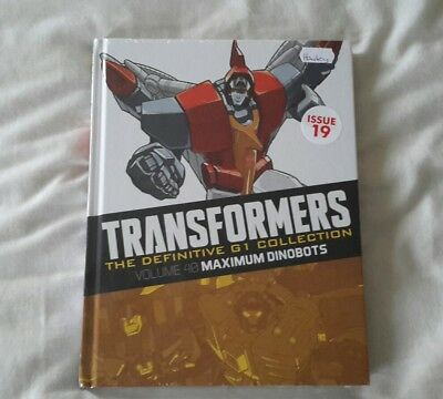 Transformers G1 The definitive collection issue 19 (Brand New Sealed)