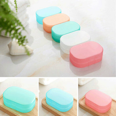Practical Bathroom Shower Travel Soap Box Dish Plate Holder Case Container 1pcs