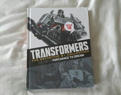 Transformers G1 The definitive collection issue 18 (Brand New Sealed )