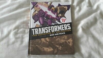 Transformers G1 The Definitive collection issue 15 (Brand New Sealed)