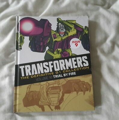 Transformers G1 The definitve collection issue 9 (Brand New Sealed)