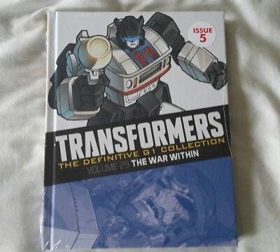 Transformers G1 The definitive collection issue 5 (Brand New Sealed )