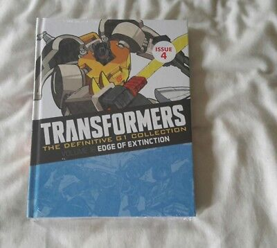 Transformers G1 The definitive collection issue 4 ( Brand New Sealed)