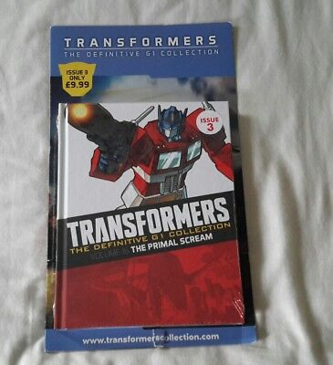 Transformers G1 The definitive collection issue 3 (Brand New Sealed)