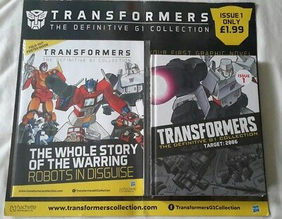 Transformers G1 The definitive collection issue 1 ( Brand New Sealed )