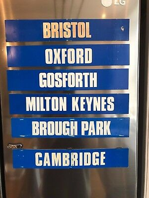 Rare Bookmaker Greyhound Magnet Signs