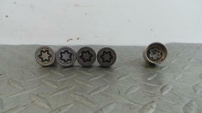 2010 VAUXHALL CORSA Locking Wheel Nut Set 856
