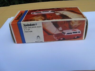 Tinplate Ambulance Car boxed