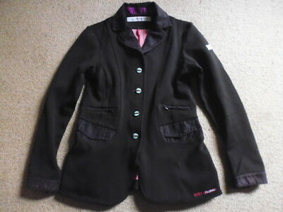 Animo girls competition show jacket black size age 12 years