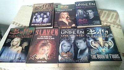 buffy the vampire slayer books in good condition
