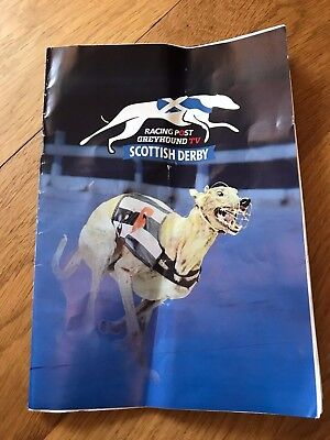 Scottish Greyhound Derby Final Race Card - Shawfield 2017