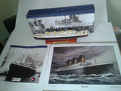 Hms Titanic =Die Cast Replica =In Mint Condition In Original Box